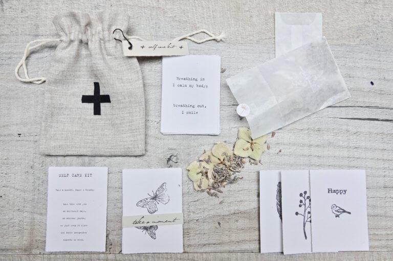 Handmade Artisan Pocket Self-Care Kit